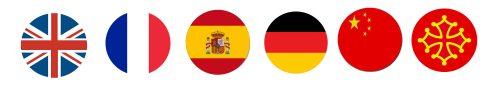 6 langues